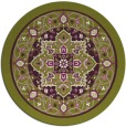 rug #1304307 | round purple traditional rug
