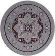 rug #1304315 | round purple traditional rug