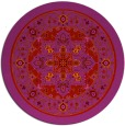 rug #1304331 | round red borders rug