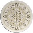 rug #1304383 | round yellow borders rug