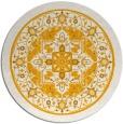 rug #1304415 | round light-orange borders rug