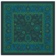 rug #1304859 | square blue traditional rug