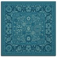rug #1304863 | square blue-green borders rug