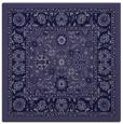 rug #1304879 | square blue-violet damask rug