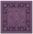 rug #1304891 | square blue-violet borders rug