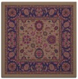 rug #1304899 | square blue-violet damask rug