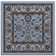 rug #1304903 | square blue-violet borders rug