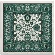 rug #1304931 | square green borders rug