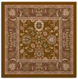 rug #1304947 | square mid-brown natural rug