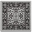 rug #1305019   square orange damask rug