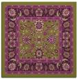 rug #1305043 | square purple borders rug