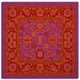rug #1305067 | square red traditional rug