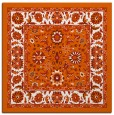 rug #1305083 | square red-orange traditional rug