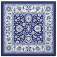 rug #1305095   square blue traditional rug