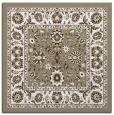 rug #1305111 | square beige damask rug