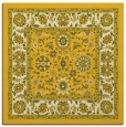 rug #1305115 | square yellow traditional rug