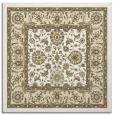 rug #1305119 | square yellow traditional rug