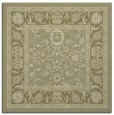 rug #1305139 | square light-green borders rug