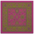 rug #1305143 | square light-green rug