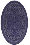 rug #1305253 | oval borders rug