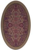 rug #1305269   oval natural rug