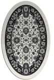 rug #1305312 | oval borders rug