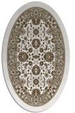 rug #1305327 | oval white borders rug