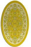 rug #1305459   oval white borders rug