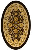 rug #1305469 | oval borders rug
