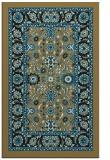 rug #1305559 |  brown traditional rug