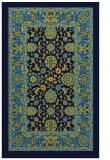 rug #1305563 |  blue damask rug