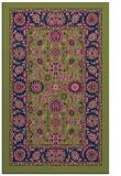 rug #1305575 |  blue damask rug