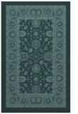 rug #1305603    blue-green damask rug