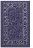 rug #1305619 |  blue-violet borders rug