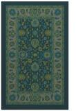 rug #1305663 |  green borders rug