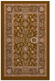 rug #1305683 |  brown traditional rug