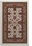 rug #1305691 |  mid-brown damask rug