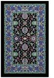 rug #1305735 |  black traditional rug