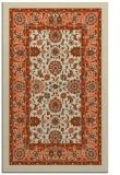 rug #1305751 |  orange damask rug