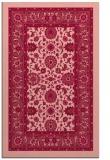 rug #1305767 |  pink popular rug