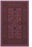 rug #1305775 |  purple traditional rug