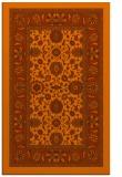 rug #1305807 |  red-orange borders rug