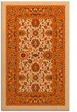 rug #1305811 |  red-orange borders rug