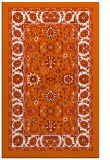 rug #1305819 |  red-orange traditional rug