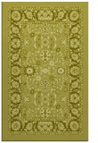 rug #1305871 |  light-green damask rug