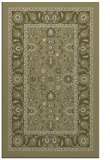 rug #1305883 |  light-green damask rug