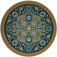rug #1305927 | round mid-brown popular rug