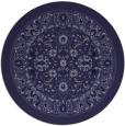 rug #1305986 | round damask rug