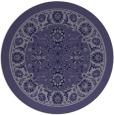 rug #1305987   round blue-violet rug