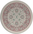 rug #1306023 | round pink borders rug